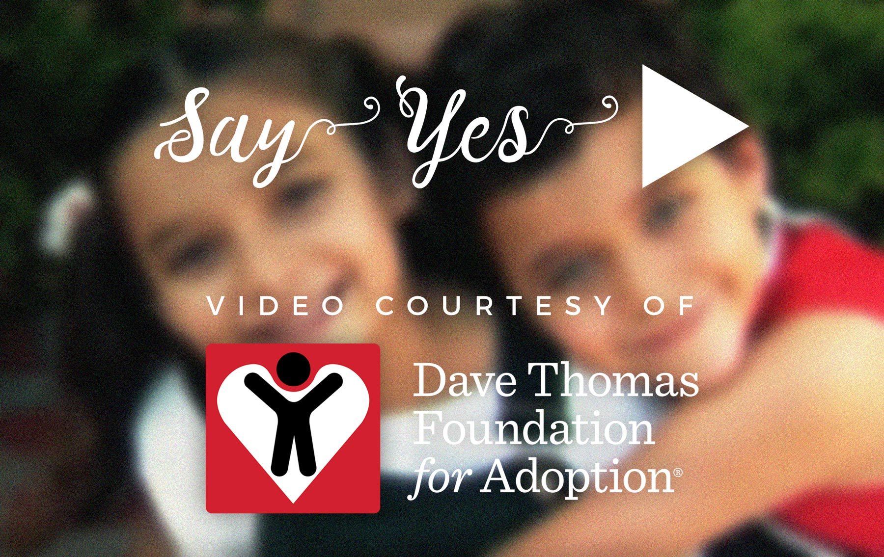 Say yes to adoption video